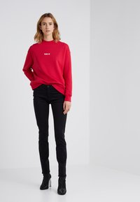 AG Jeans - PRIMA - Stoffhose - super black - 1