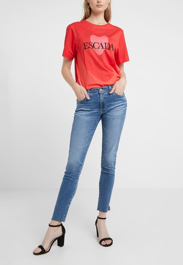 LEGGING ANKLE - Jeans Skinny Fit - light-blue denim