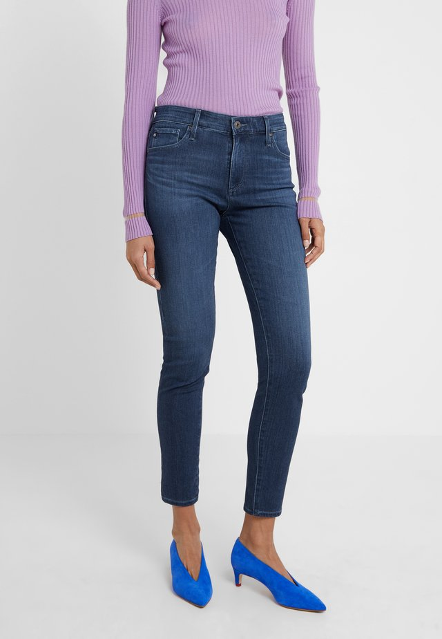 FARRAH ANKLE - Jeans Skinny Fit - pacific indigo