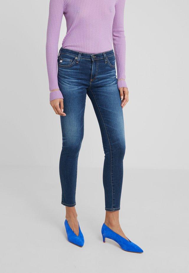 LEGGING ANKLE - Jeans Skinny - dark-blue denim