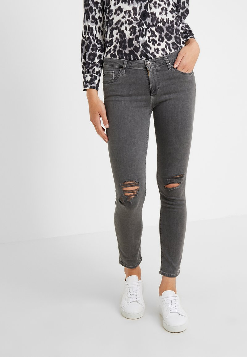 AG Jeans - PRIMA ANKLE - Jeans Skinny Fit - smoke ash