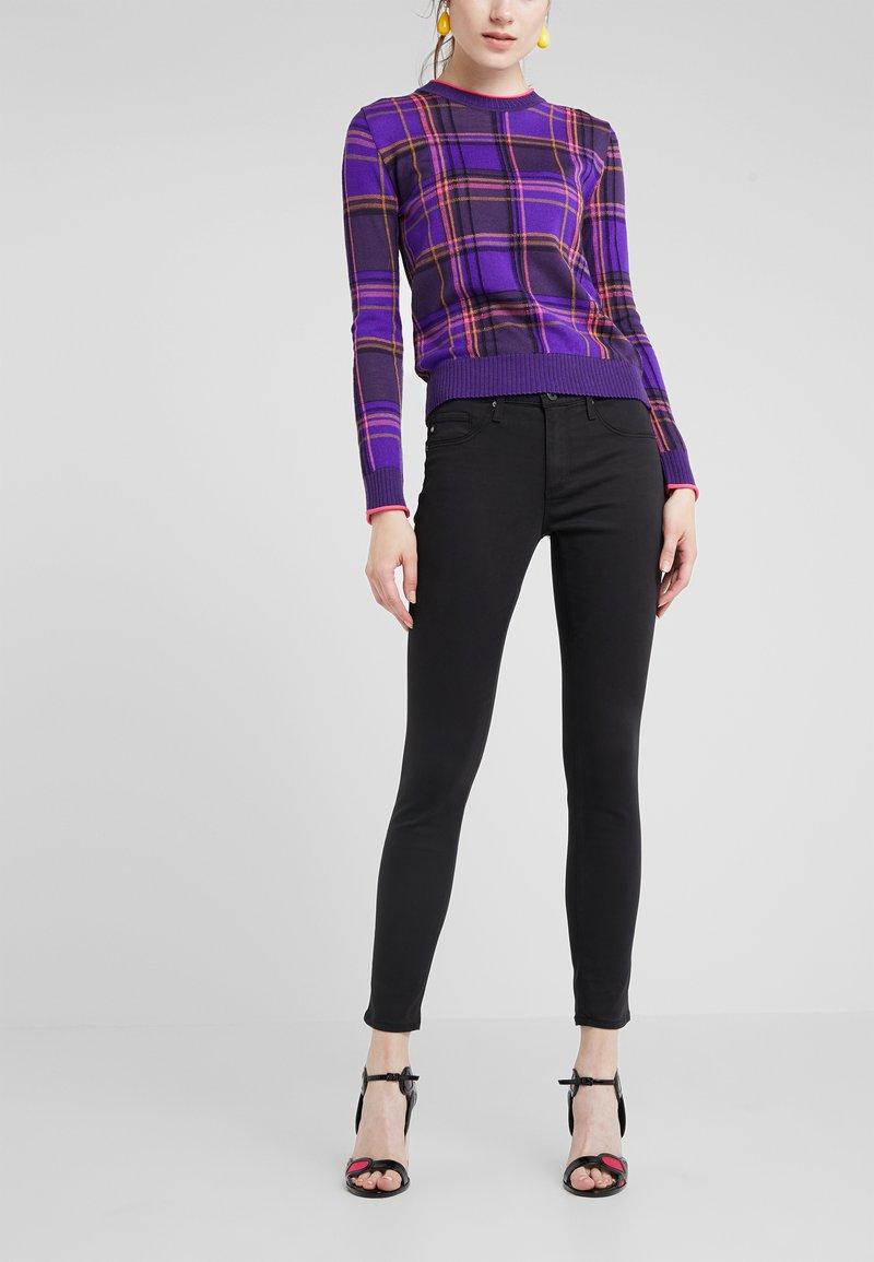 AG Jeans - ANKLE - Jeans Skinny Fit - super black