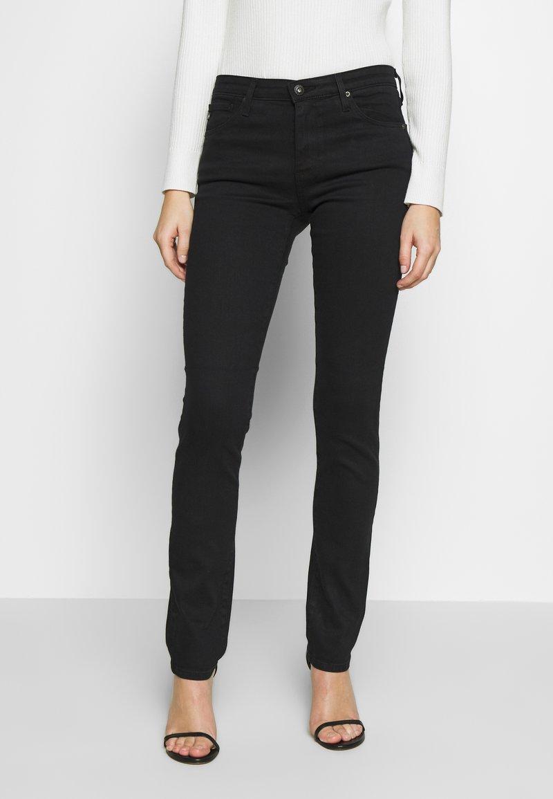 AG Jeans - HARPER  - Džíny Straight Fit - black