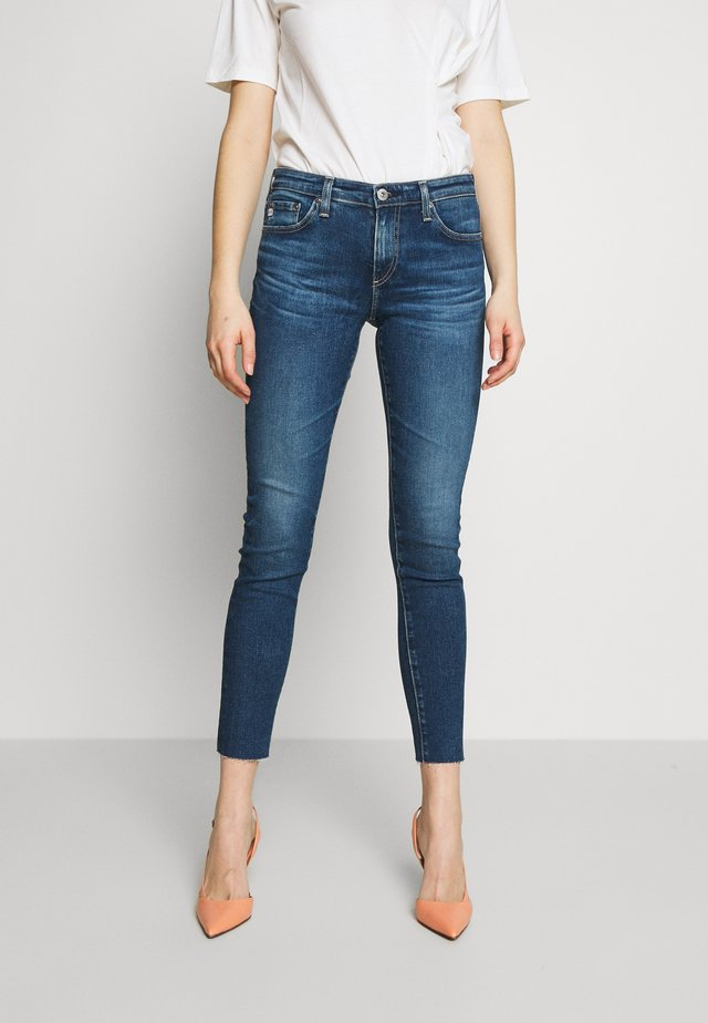 ANKLE - Jeansy Skinny Fit - blue denim