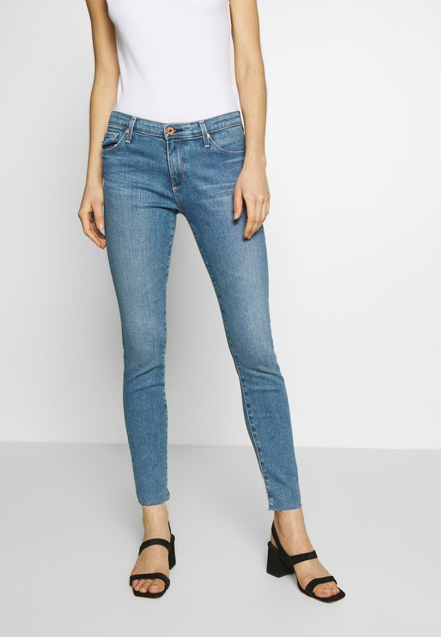 ANKLE - Jeansy Skinny Fit - blue