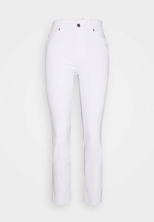 ISABELLE - Skinny-Farkut - retro white