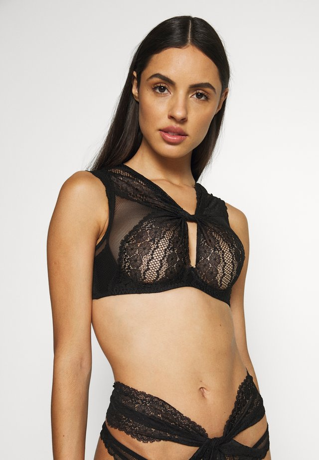 LEIGH BRA - Underwired bra - black