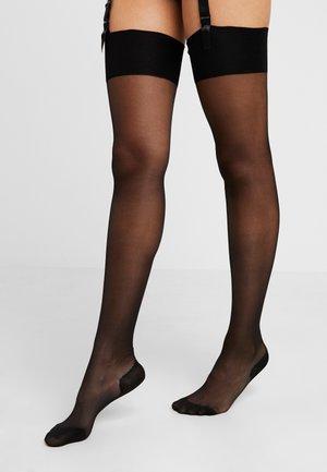 AMBER - Overknee-strømper - black