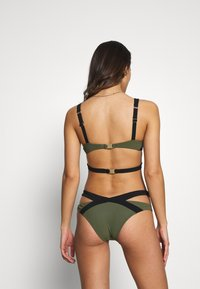 Agent Provocateur - MAZZY BRIEF - Bikini bottoms - black/khaki - 2