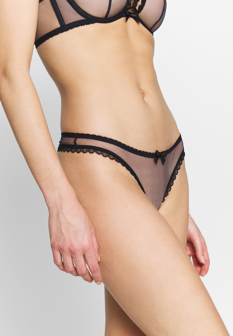 Agent Provocateur - INDY THONG - Tanga - blue/black