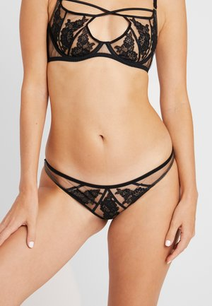 DEMELZA BRIEF - Slip - black