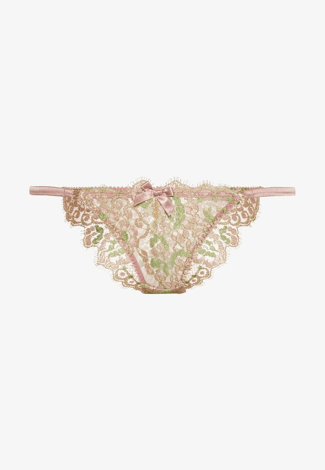 BIJU BRIEF - Briefs - pink/green