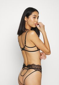 Agent Provocateur - PALMA HIGH WAIST BRIEF - Briefs - black - 2