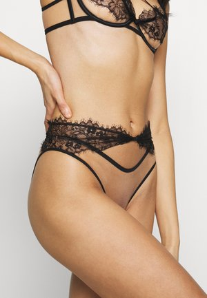 PALMA HIGH WAIST BRIEF - Kalhotky - black