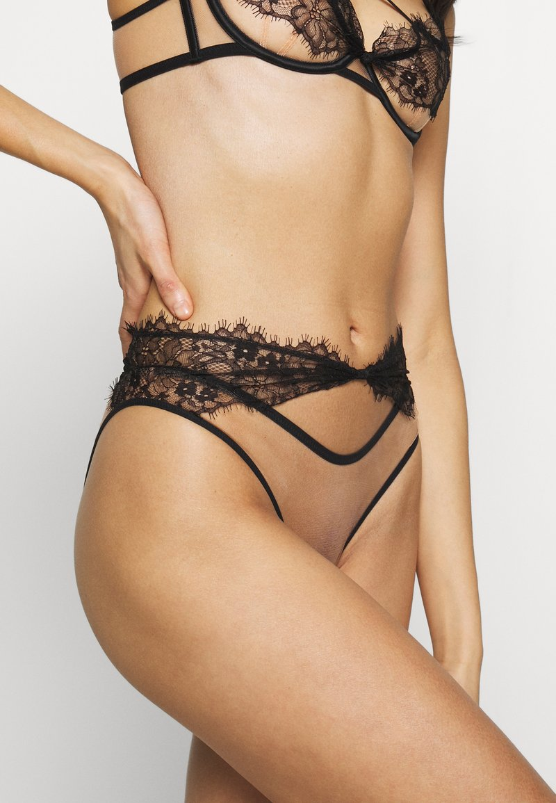 Agent Provocateur - PALMA HIGH WAIST BRIEF - Briefs - black