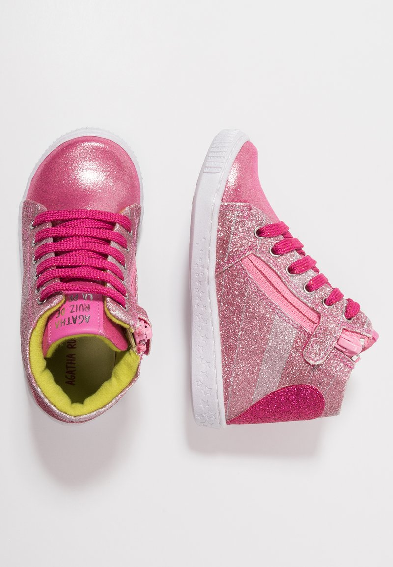 Agatha Ruiz de la Prada - FLOW - Sneakers hoog - fresa