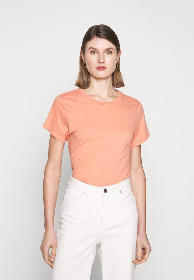 Agolde - MARIAM TEE - T-shirt basic - passion fruit