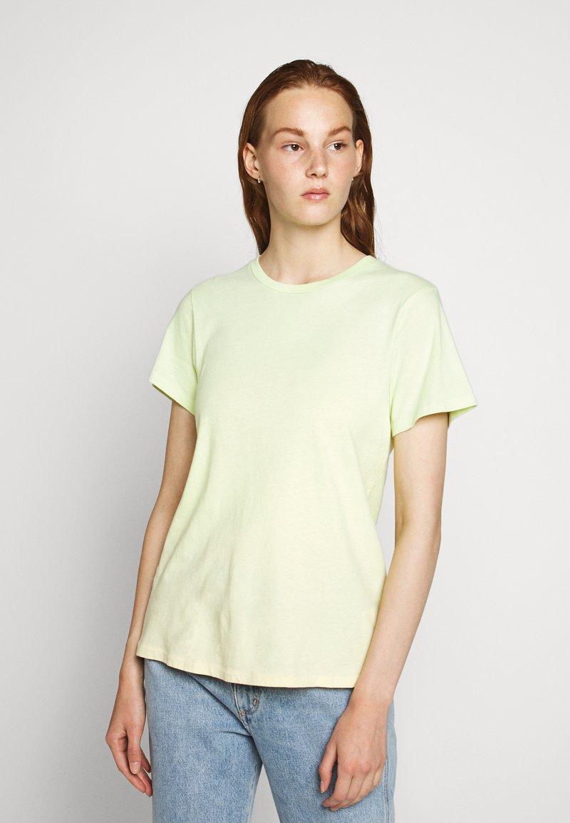 Agolde - MARIAM TEE - T-shirts print - sunrise
