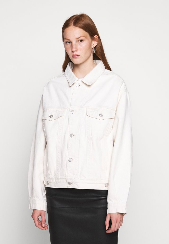 CHARLI JACKET - Denim jacket - paper