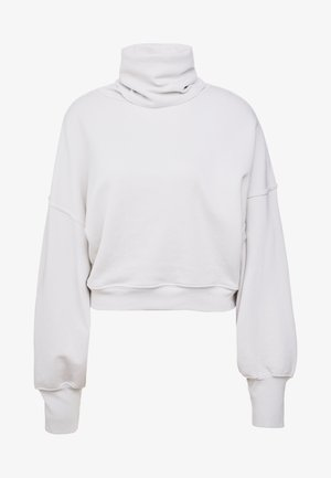 BALOON SLEEVE TURTLE NECK - Collegepaita - plaster