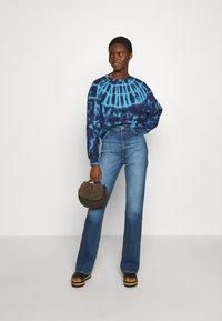 Agolde - BALOON SLEEVE - Sweatshirts - dark blue - 1