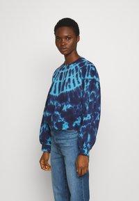 Agolde - BALOON SLEEVE - Sweatshirts - dark blue - 0