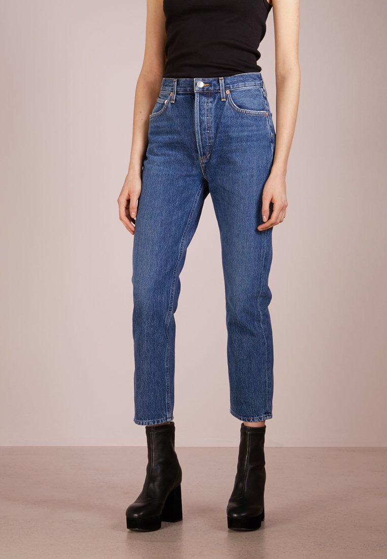 Agolde - RILEY HIGHRISE - Jeans Straight Leg - air blue