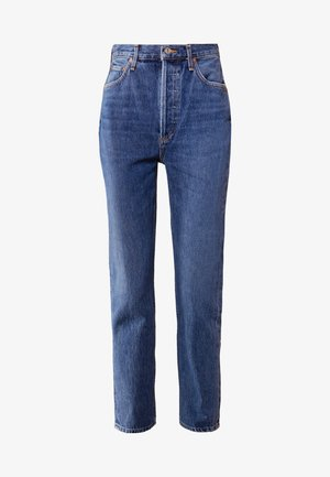 RILEY HIGHRISE - Jeansy Straight Leg - air blue