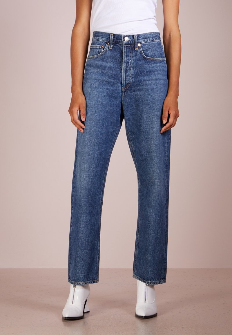 Agolde - 90 S MID RISE LOSE FIT - Jeans Relaxed Fit - placebo