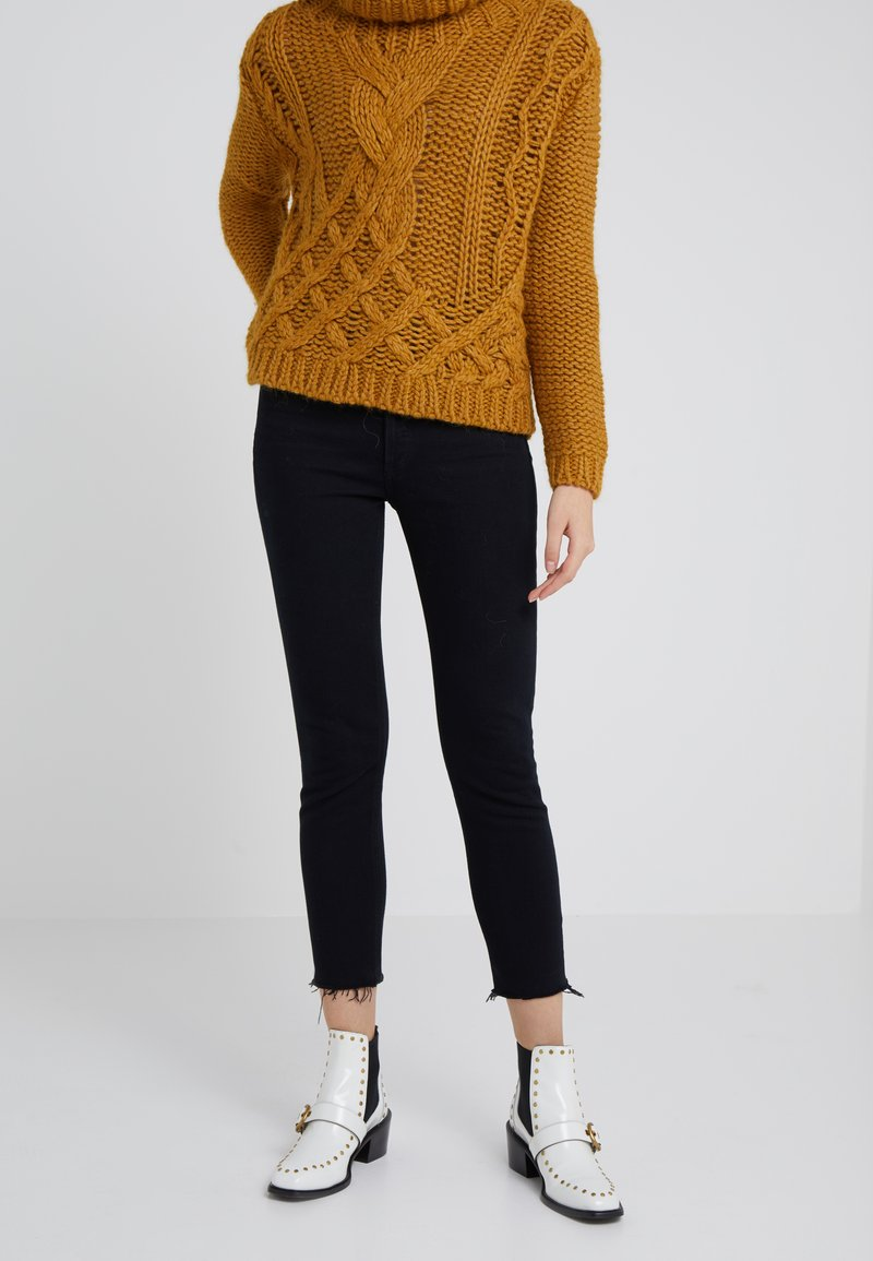 Agolde - NICO HIGH RISE - Jeans Skinny - raven