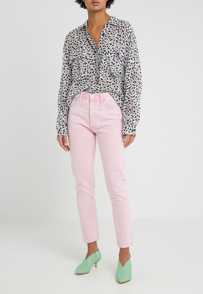 Agolde - JAMIE HIGH RISE - Jeans Relaxed Fit - potion