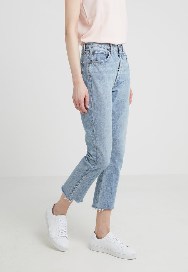 RILEY HIGH RISE - Jeans Relaxed Fit - zephyr