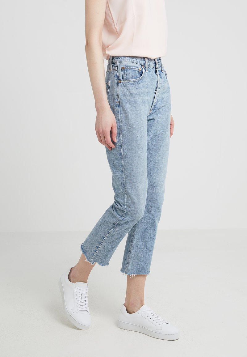 Agolde - RILEY HIGH RISE - Jeansy Relaxed Fit - zephyr