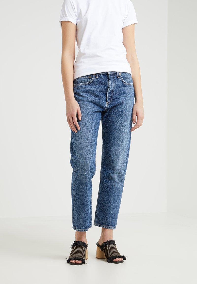 Agolde - PARKER EASY - Jeans Straight Leg - placebo