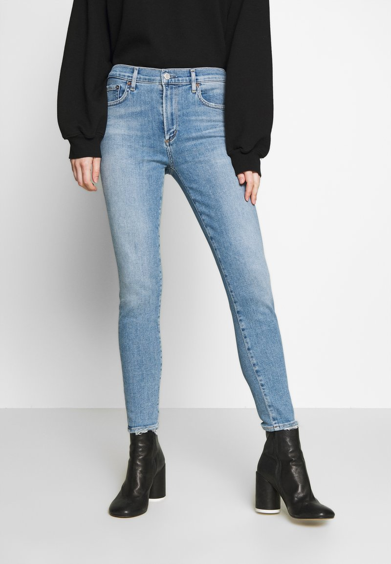 Agolde - SOPHIE SKINNY - Jeansy Skinny Fit - saltwater
