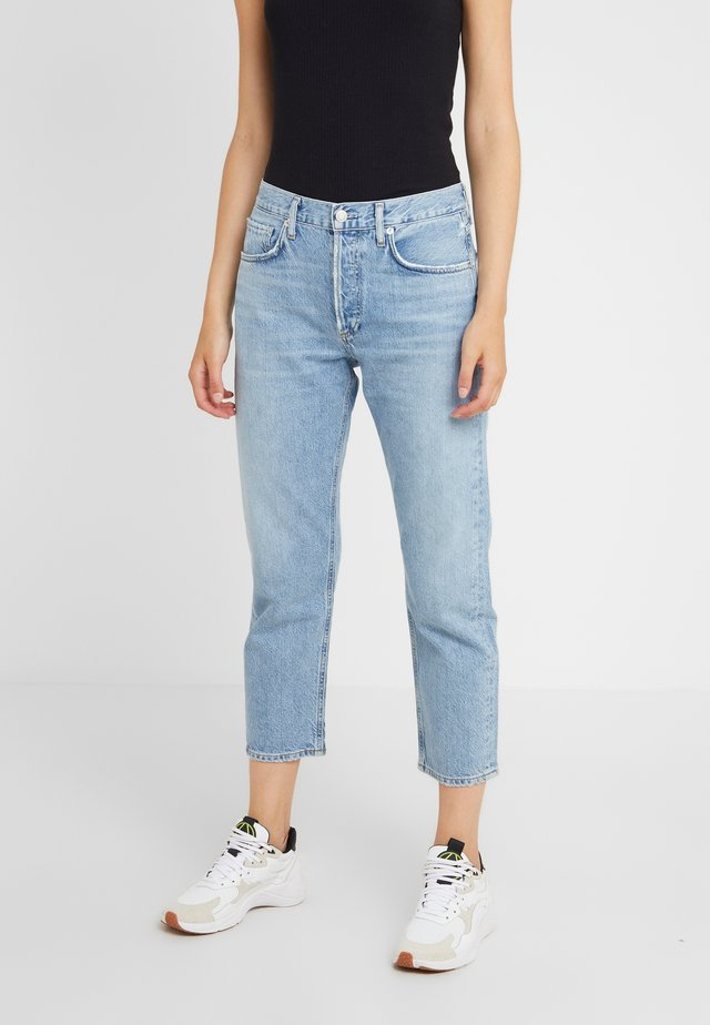 PARKER - Relaxed fit jeans - blur