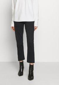 Agolde - RILEY - Slim fit jeans - black pepper - 0