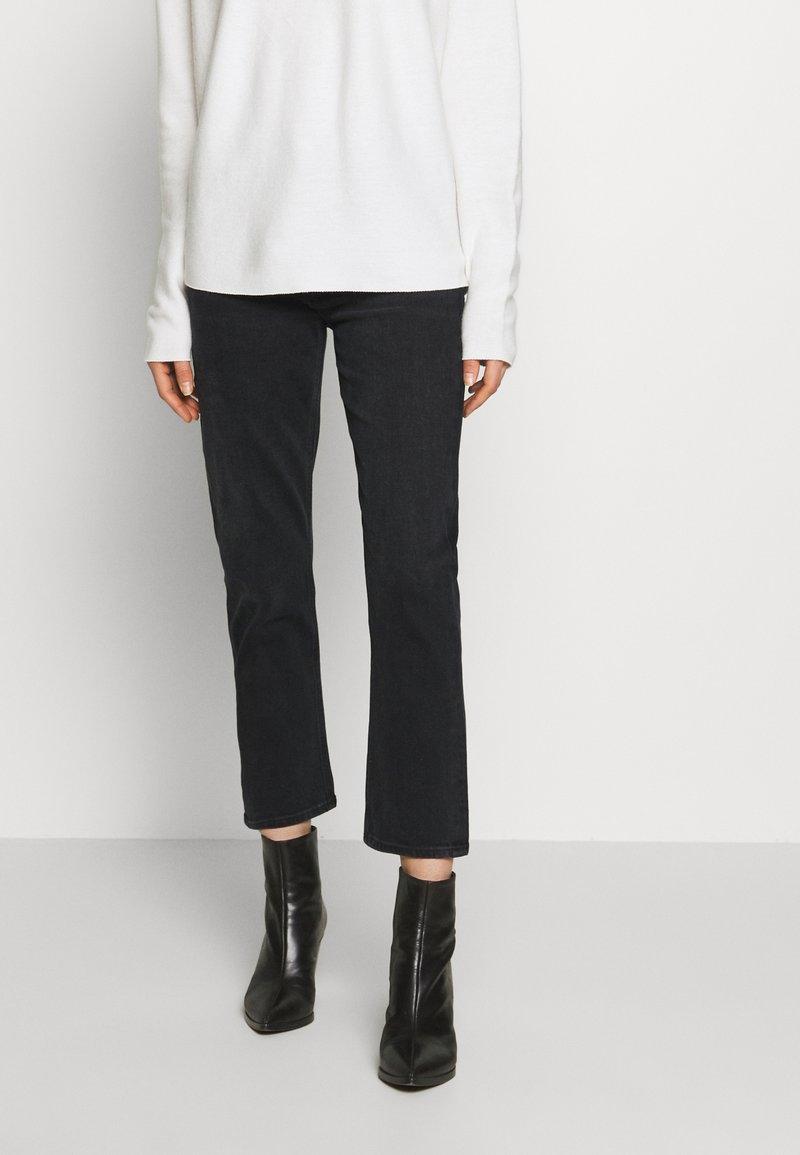 Agolde - RILEY - Slim fit jeans - black pepper