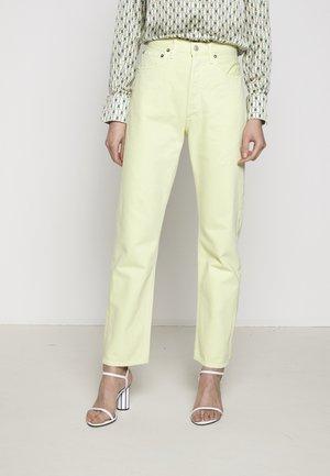 90'S - Jeans Straight Leg - limoncello