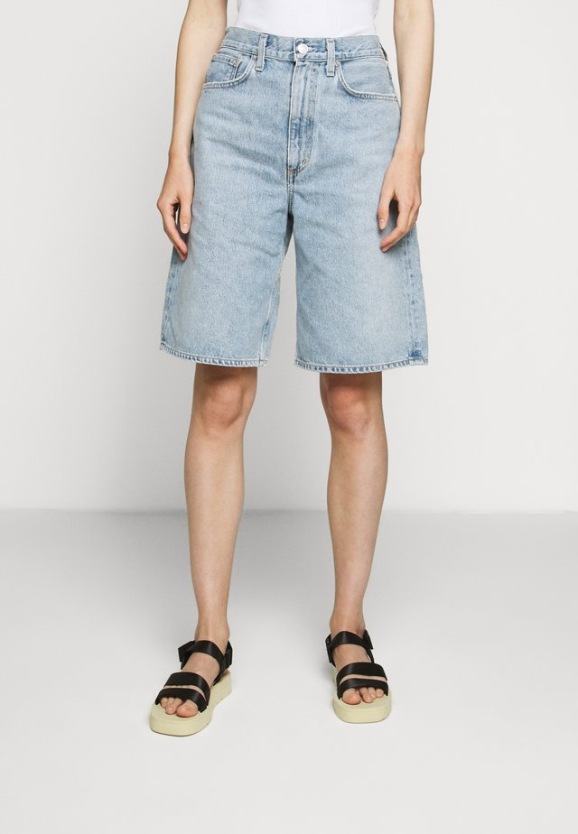 LENNOX CULOTTE - Denim shorts - blue wave