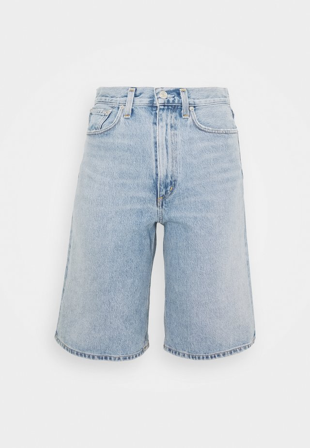 LENNOX CULOTTE - Jeans Shorts - blue wave