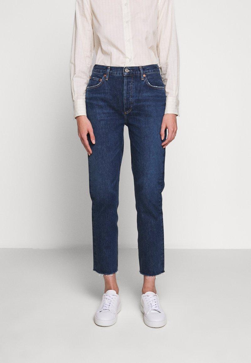 Agolde - REMY - Jeans Straight Leg - blue denim