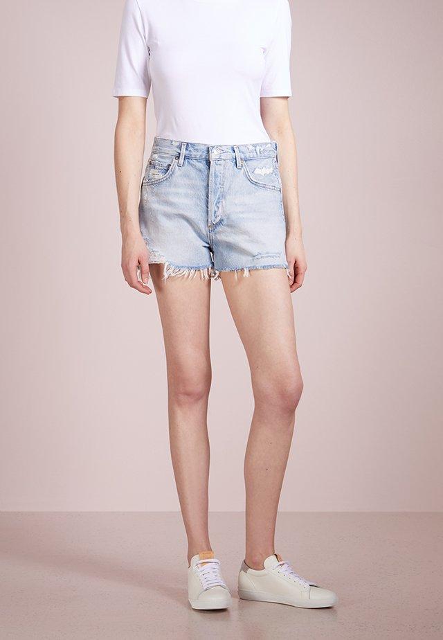 JADEN HIGHRISE SHORT - Jeans Shorts - broken