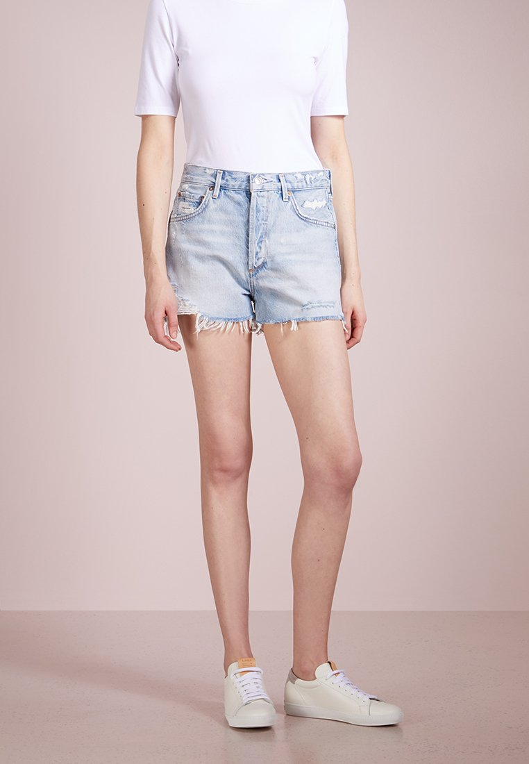 Agolde - JADEN HIGHRISE SHORT - Jeans Short / cowboy shorts - broken