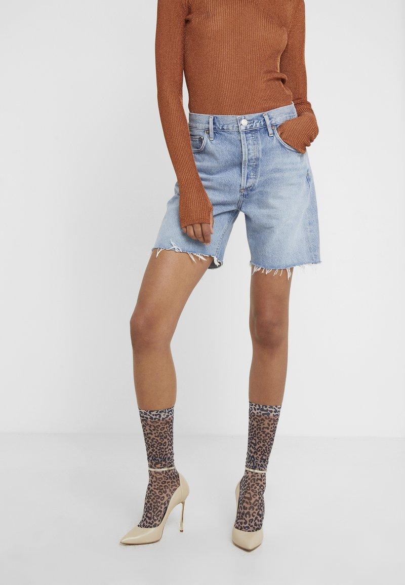 Agolde - RUMI MID LENGTH - Jeans Short / cowboy shorts - renewal