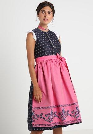 Dirndl - navy rosa