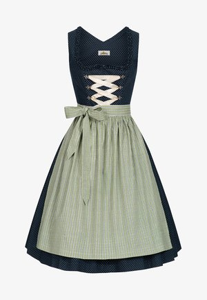 INGE - Dirndl - dark blue/green/blue