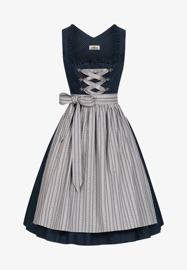 Dirndl - dark blue/grey