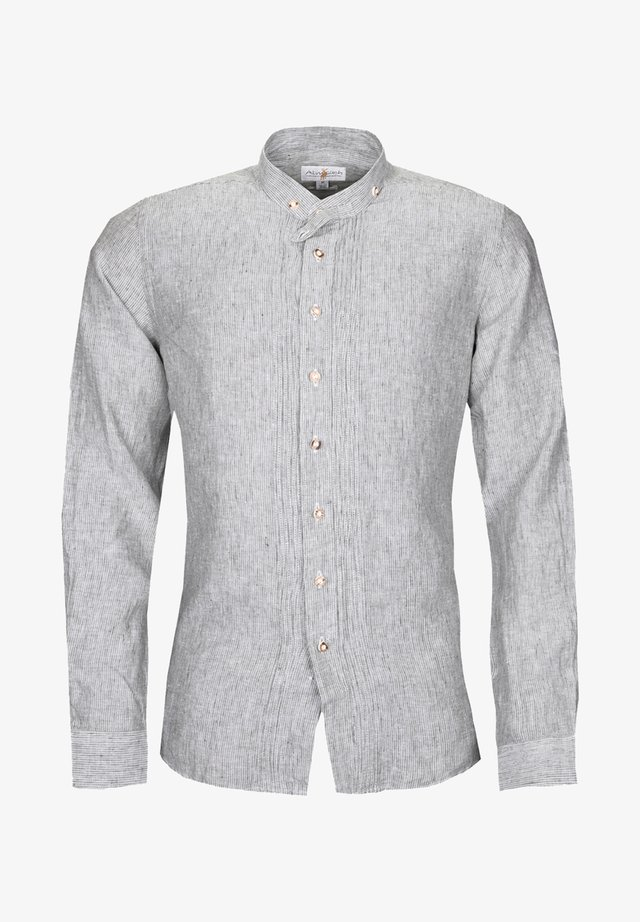 SLIM FIT - Shirt - gray