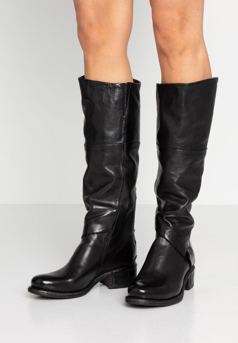 A.S.98 - Vysoká obuv - nero